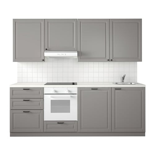 Ikea Küche Metod  METOD Küche Bodbyn grau IKEA