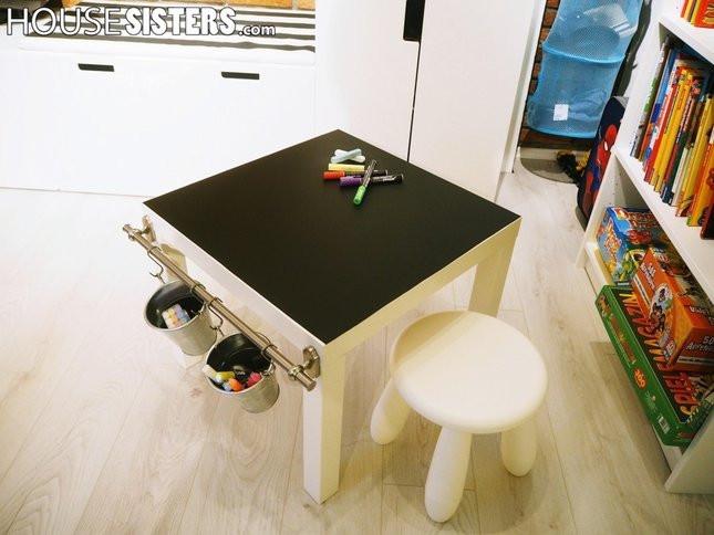 Ikea Lack Tisch Diy  DIY IKEA LACK HACK EIN MALTISCH FÜR DAS KINDERZIMMER