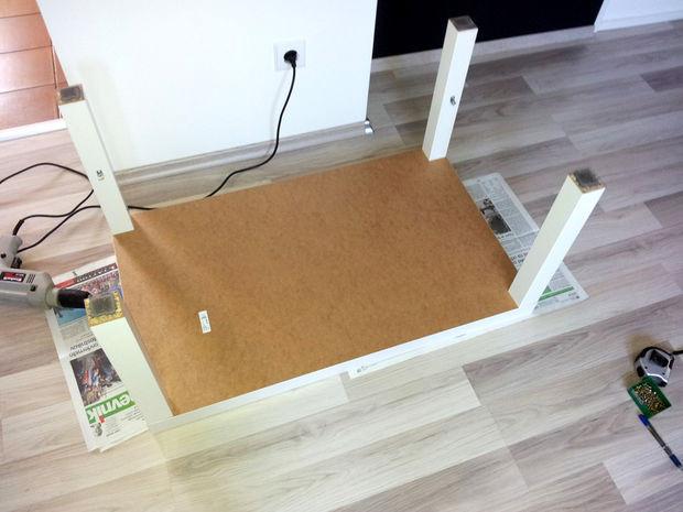 Ikea Lack Tisch Diy  IKEA Hack Lack Tisch mit Schublade genstr