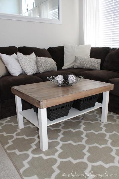 Ikea Lack Tisch Diy  Dein exklusiver Tisch im Landhaus Stil
