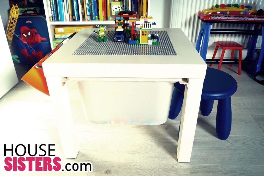 Ikea Lack Tisch Diy  DIY IKEA LACK KINDERZIMMER HACK LEGO TISCH HouseSisters