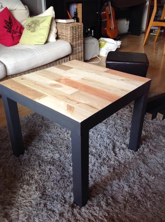 Ikea Lack Tisch Diy  Table basse ikea customiser Le bois chez vous