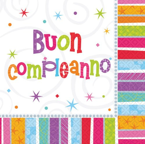 Italienische Geburtstagswünsche  Glückwünsche Geburtstag Italienisch Herzlichen