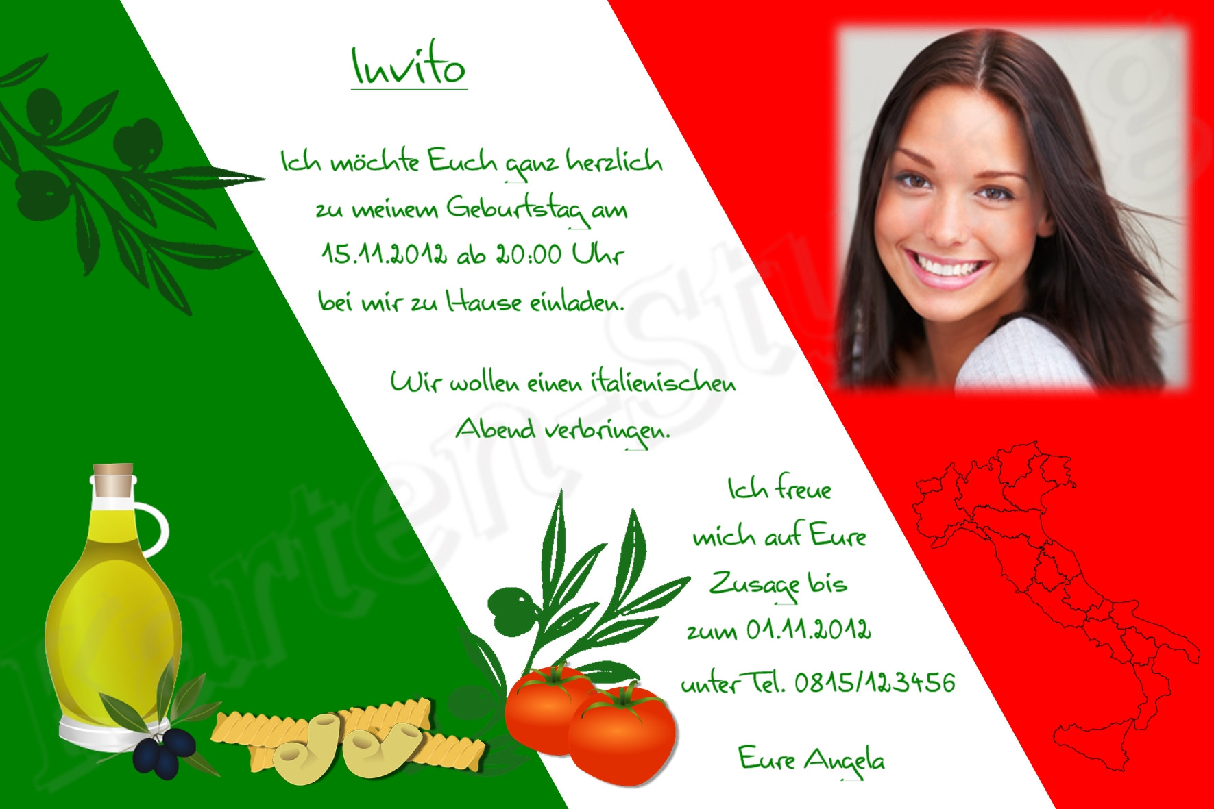 Italienische Geburtstagswünsche  Glückwünsche Geburtstag Italienisch