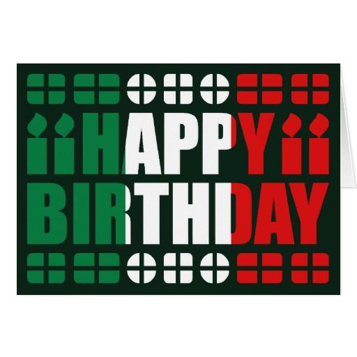 Italienische Geburtstagswünsche  Geburtstag Auf Italienisch