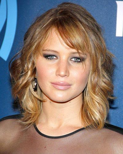 Jennifer Lawrence Frisuren  Frisuren Diese Stars lieben den neuen Long Bob