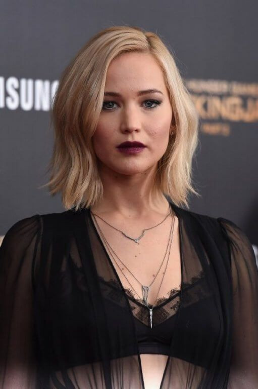 Jennifer Lawrence Frisuren  2017 Trendige Frisuren Jennifer Lawrence