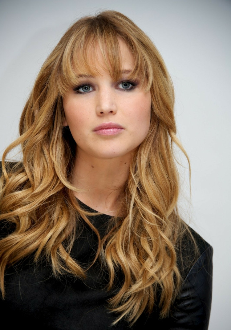 Jennifer Lawrence Frisuren  45 Frisuren für langes Haar Trends bei den Stars
