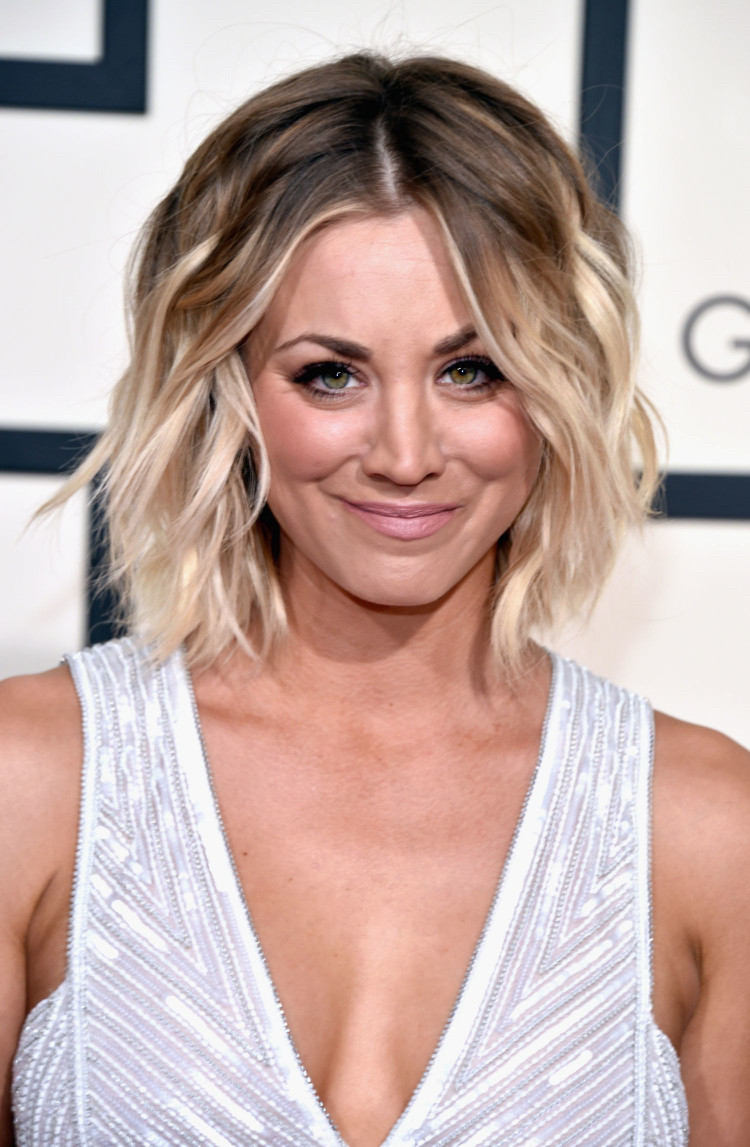 Kaley Cuoco Frisuren  Frisuren für rundes Gesicht Tipps und Inspirationen von
