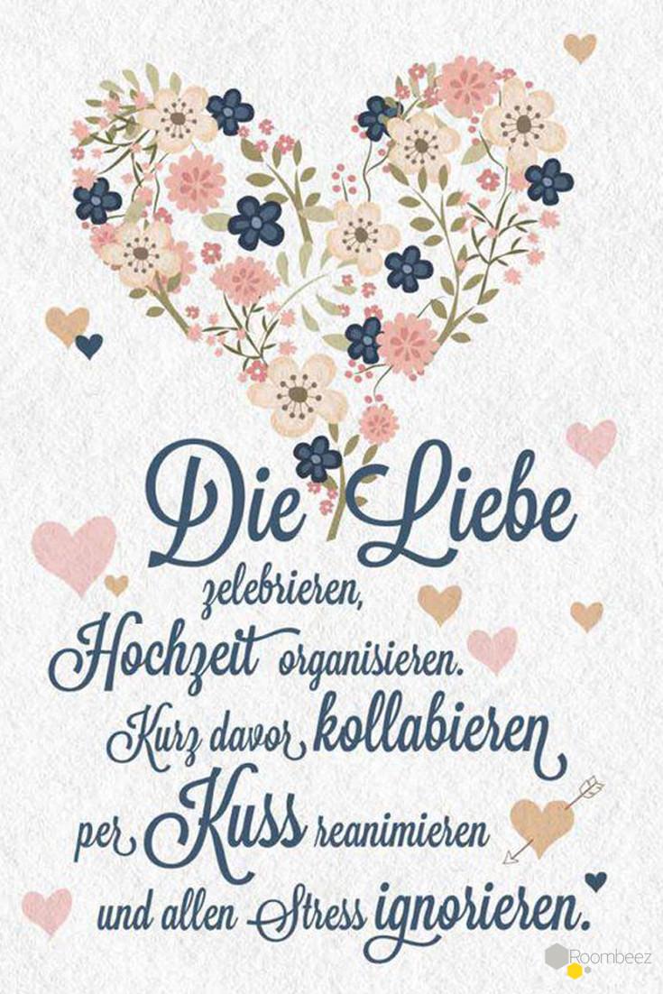 Karten Sprüche Zur Hochzeit  Hochzeitssprüche ♥ 20 kostenlose Sprüche en und