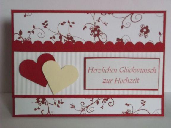Karten Sprüche Zur Hochzeit  Karten Kunst Herzlichen Glückwunsch zur Hochzeit