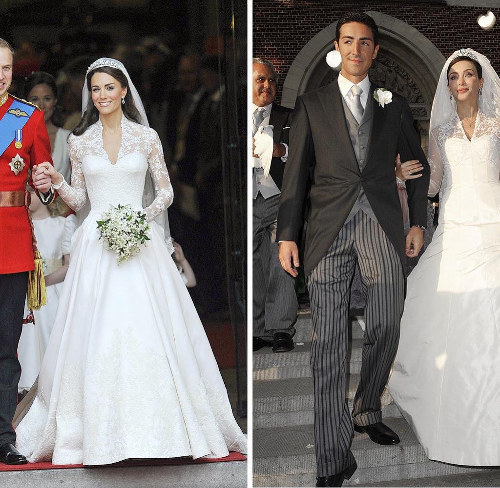 Kate Middleton Hochzeitskleid  Royal Wedding Kate Middletons Brautkleid – Alles nur