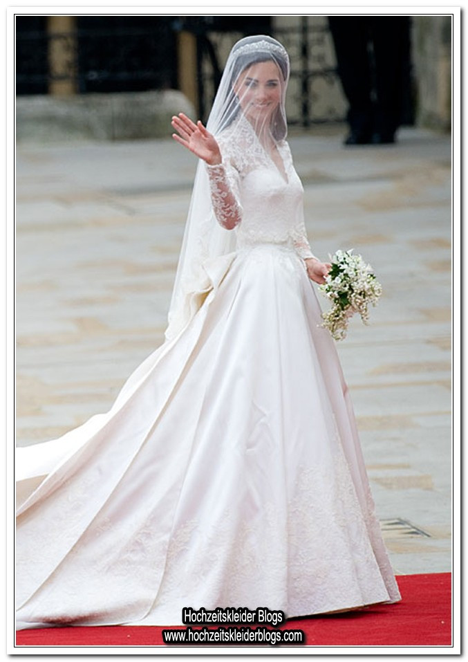 Kate Middleton Hochzeitskleid  Hochzeitskleid a la kate middleton – Dein neuer