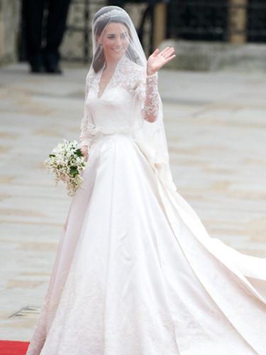 Kate Middleton Hochzeitskleid  Vestidos de novia de la realeza o en un cuento de
