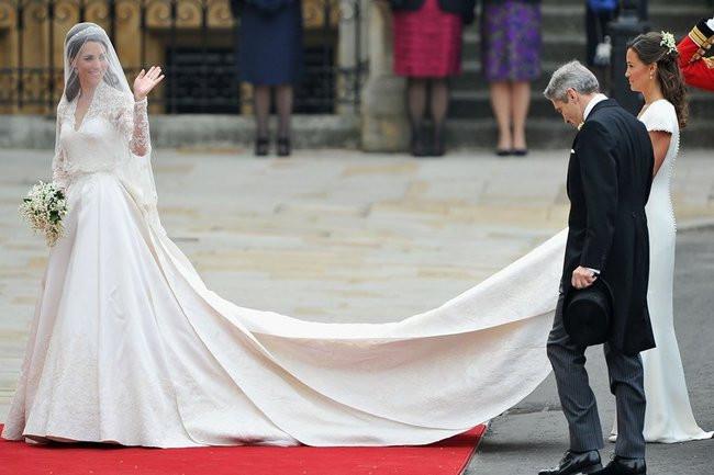 Kate Middleton Hochzeitskleid  Kate Middleton im Style Fokus