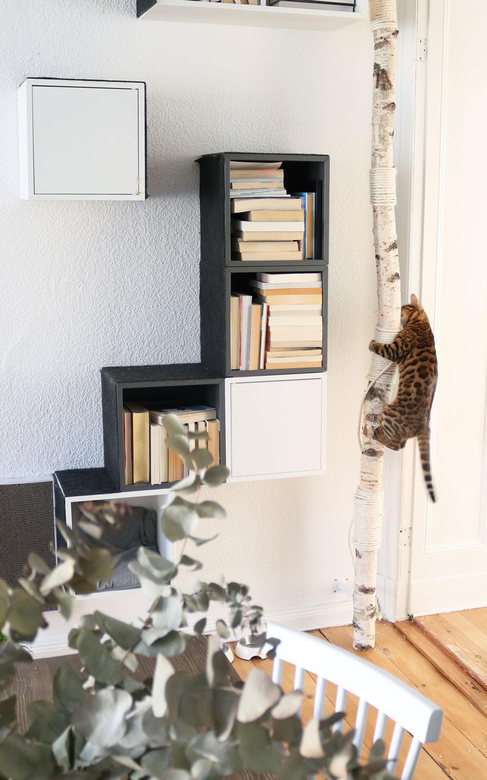 Katzen Diy  100 Katzenkratzbaum Selbst Bauen Bilder Ideen