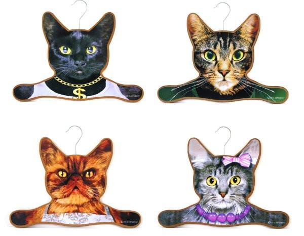 Katzen Geschenke  Katzen Kleiderbügel Geschenk für
