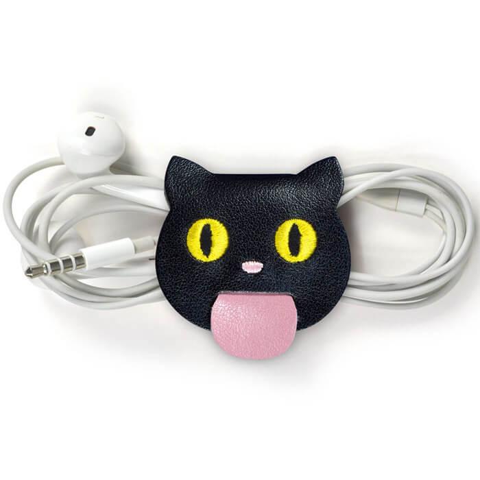 Katzen Geschenke  Kabelhalter Katzen Gad s und Geschenke