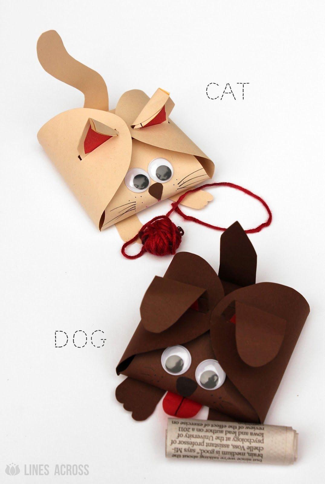 Katzen Geschenke  Katzen und Hunde Geschenkbox