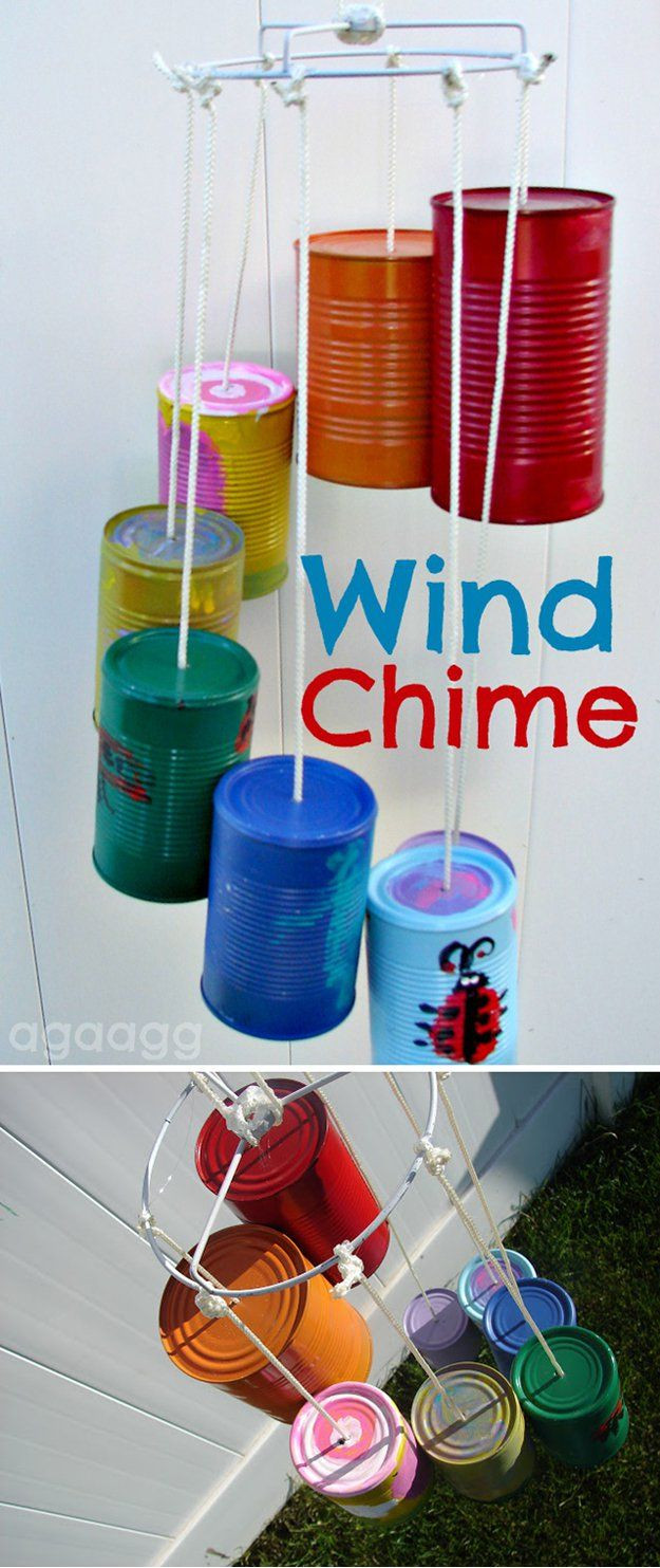 Kinder Handwerk  DIY Wind Chimes To Liven Up Your Home