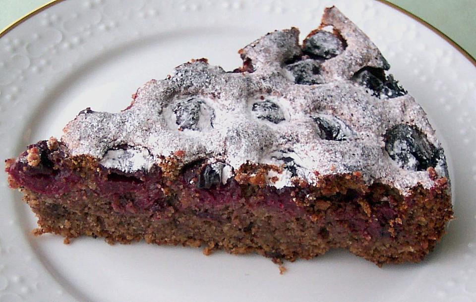 Kirsch Schoko Kuchen  Kirsch Schoko Kuchen Rezept mit Bild von ortleb