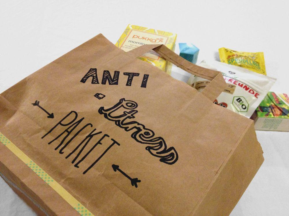 Kleine Geschenke Für Freunde  kleines Anti Stress Paket als Geschenk für Freunde
