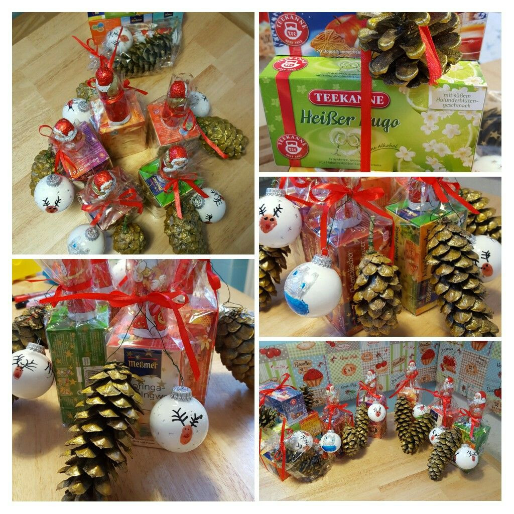 Kleine Geschenke Für Kollegen  Kleine Geschenke zur Weihnachtszeit für Erzieher Lehrer