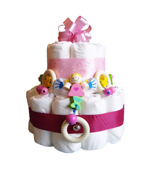 Kleine Geschenke Zur Geburt  windeltorte geschenk geburt babyparty