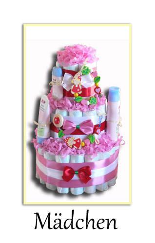 Kleine Geschenke Zur Geburt  Windeltorte Windeldreirad Kindergeschenke zur Geburt und
