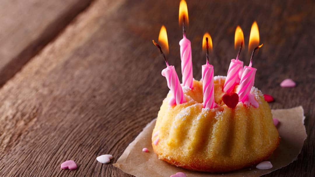 Kleiner Geburtstagskuchen  Weltrekorde zum Geburtstag – mit der Feier ins Guinnessbuch