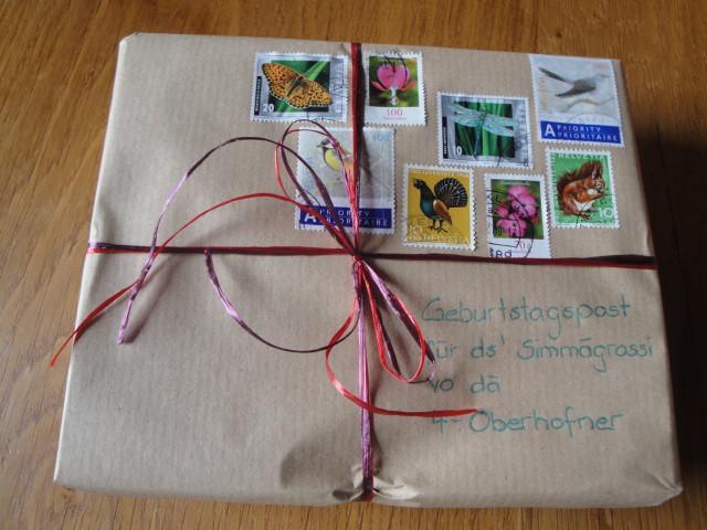 Kleines Geburtstagsgeschenk  Kreativhäxli s kleine Welt Kleines Geburtstagsgeschenk