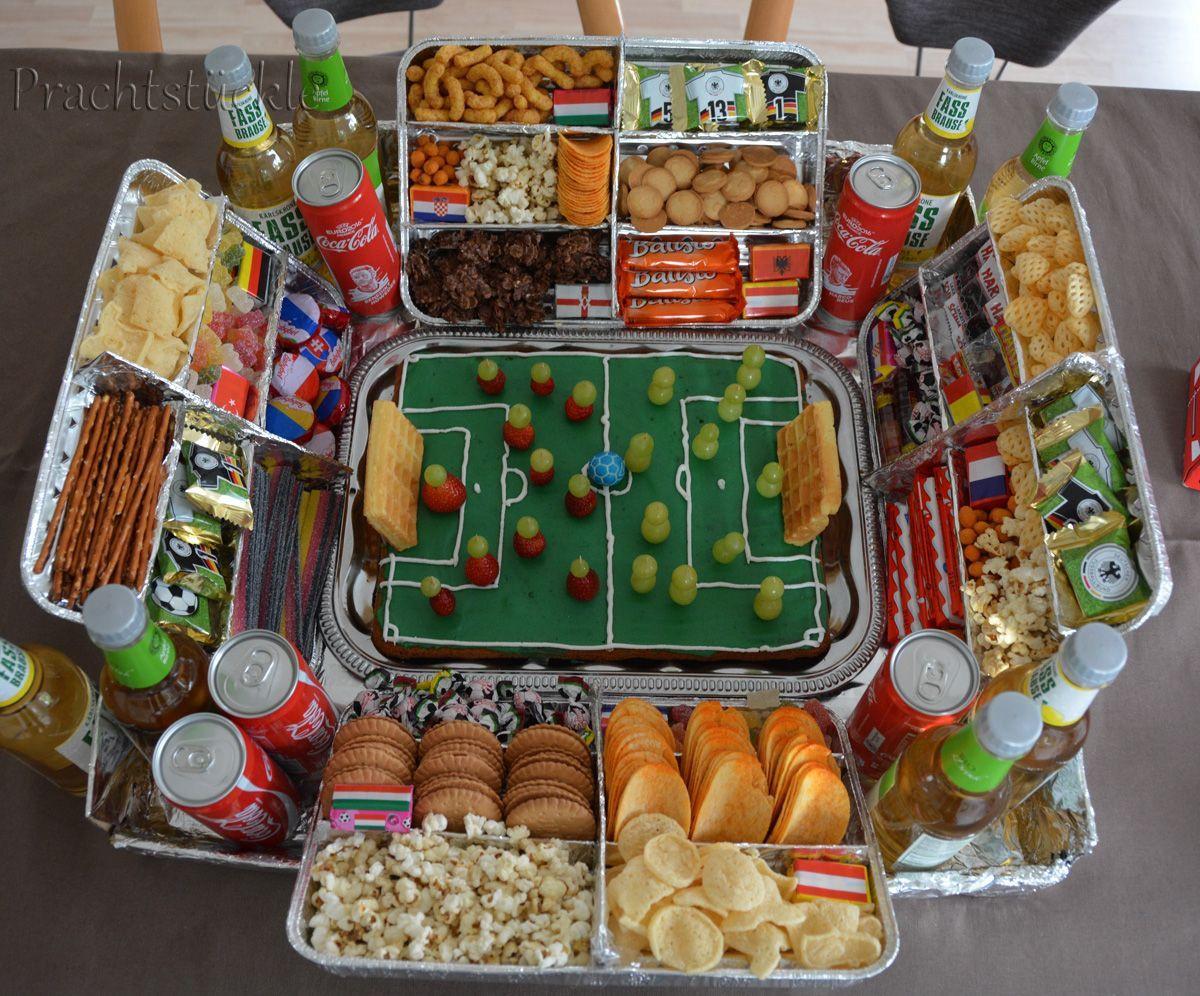 Kleines Geburtstagsgeschenk  Prachtstückle Fußball Snack Stadion