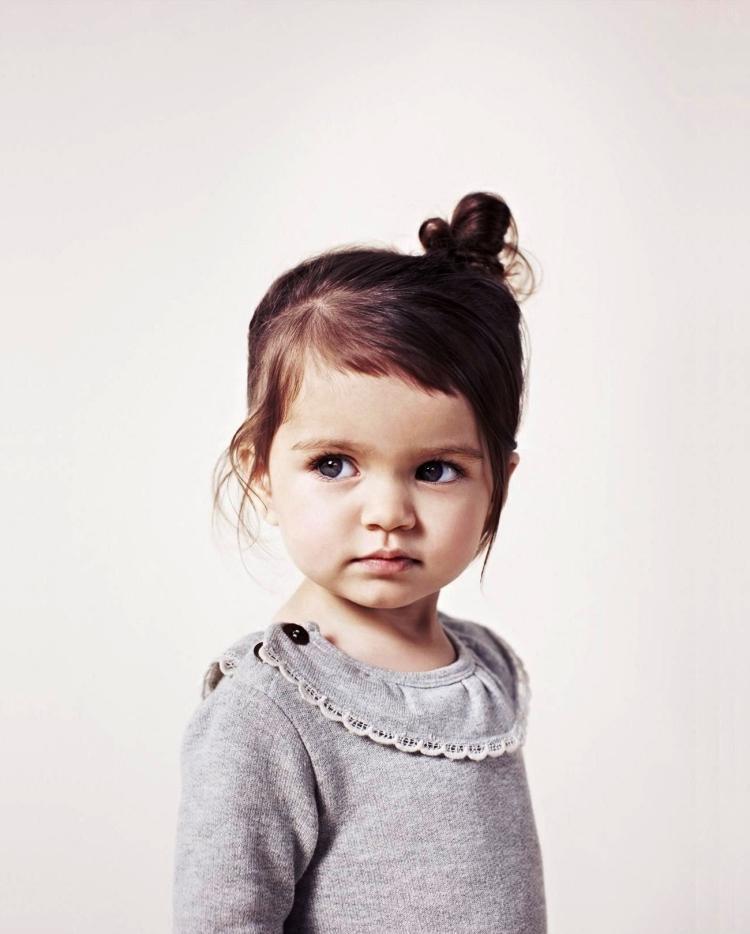 Kleinkind Frisuren Mädchen  55 Kreative Mädchen Frisuren Hair Styling der kleine Dame