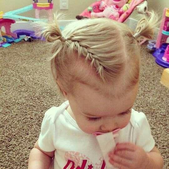 Kleinkind Frisuren Mädchen  Frisur Kleinkind Kids hairstyle Pinterest