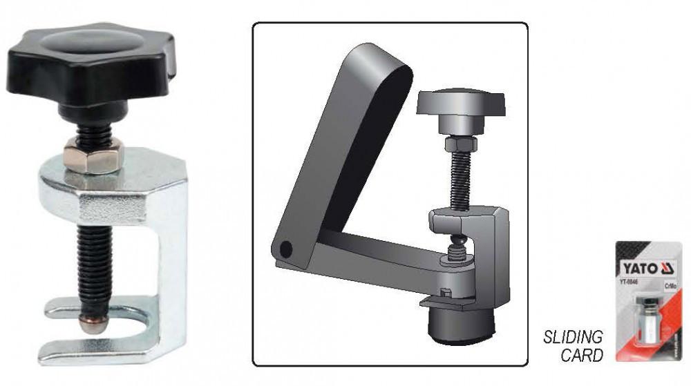 Knieschoner Handwerk  Abzieher für Scheibenwischer Scheibenwischermotor