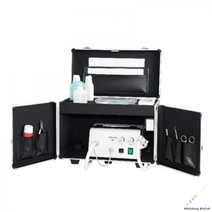 Koffer Für Nageldesign  Koffer mit Steckdose schwarz Feedback GmbH