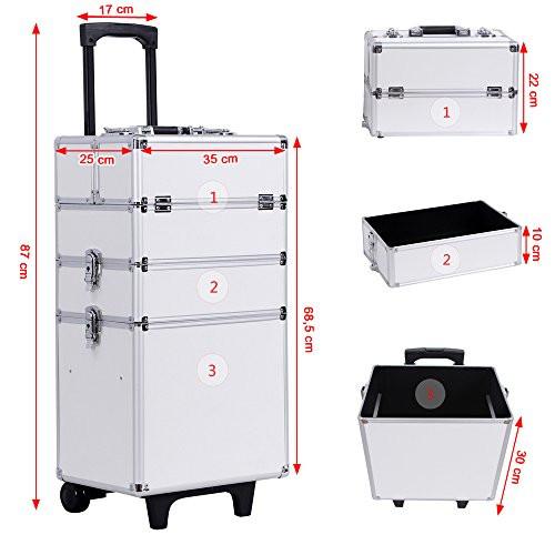 Koffer Für Nageldesign  Guter Nageldesign und Kosmetik Trolley Nageldesign Zentrale