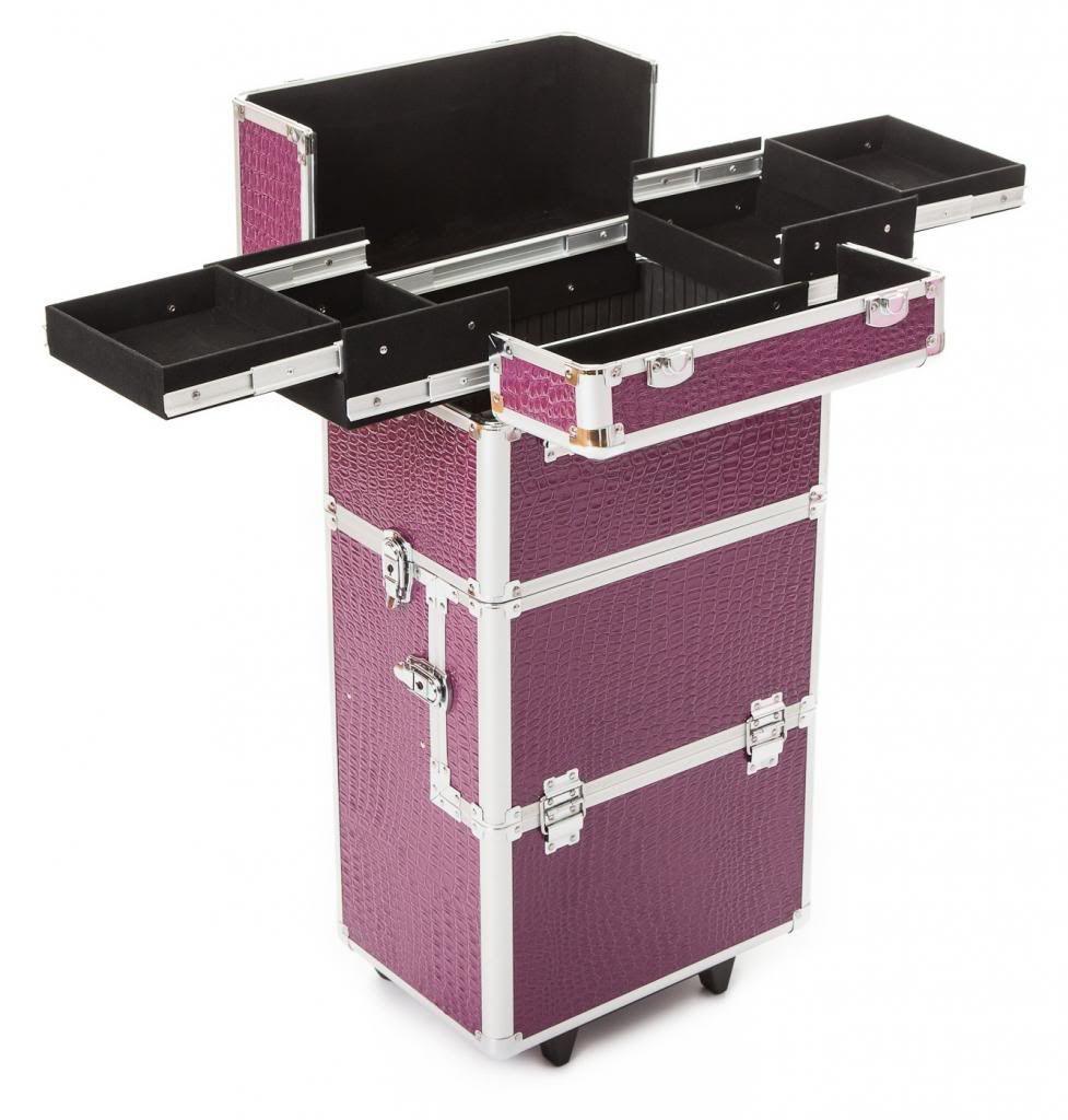 Koffer Für Nageldesign  Beauty Kosmetik Make up Friseur Nageldesign Haar Maniküre