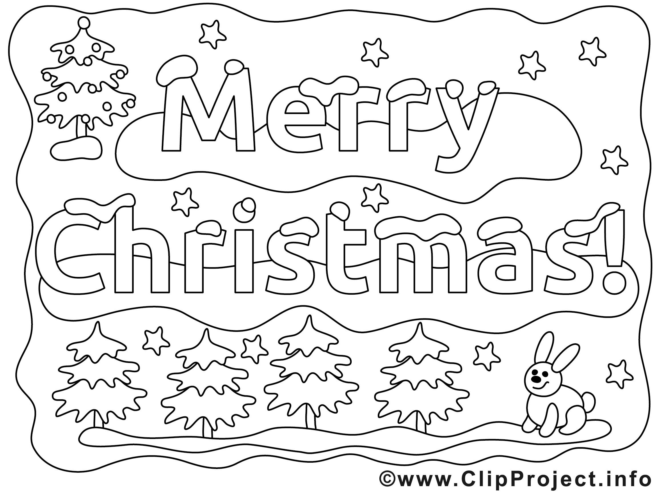 Kostenlose Malvorlagen Weihnachten  Weihnachten Ausmalbild