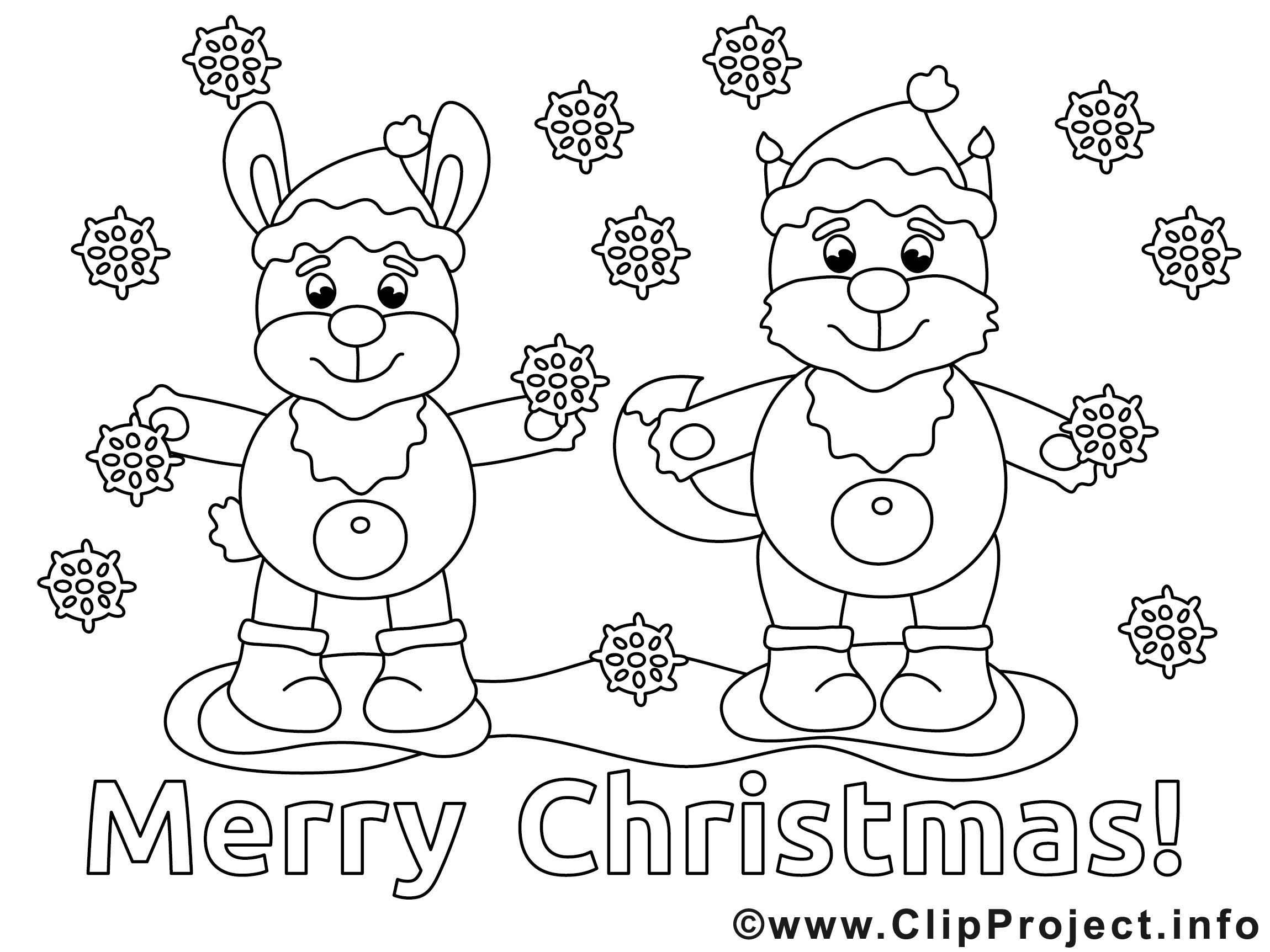 Kostenlose Malvorlagen Weihnachten  Malvorlagen Weihnachten kostenlos ausdrucken