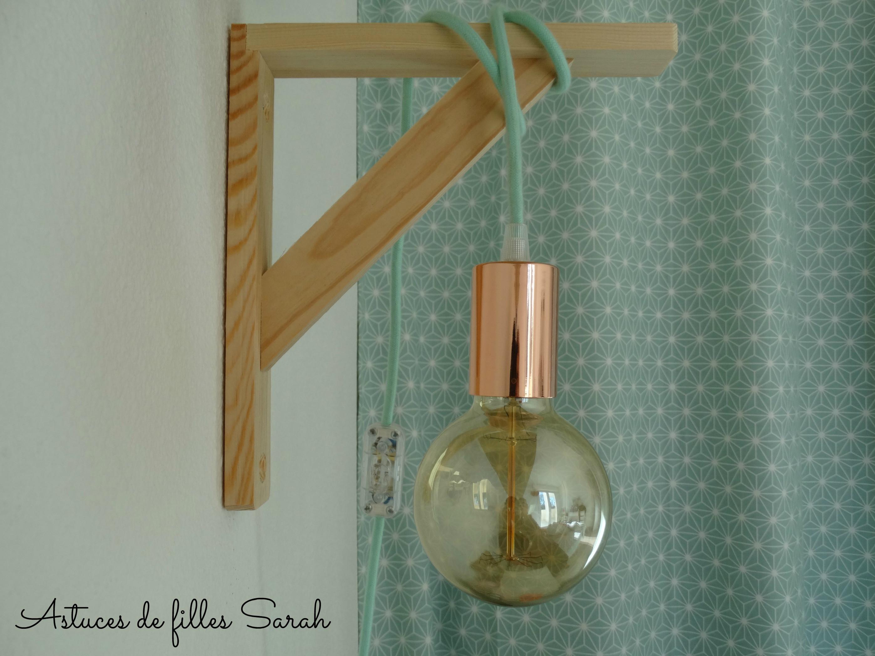 Lampe Diy  DIY 11 – Fabrication d'une lampe baladeuse – Sarah ADF