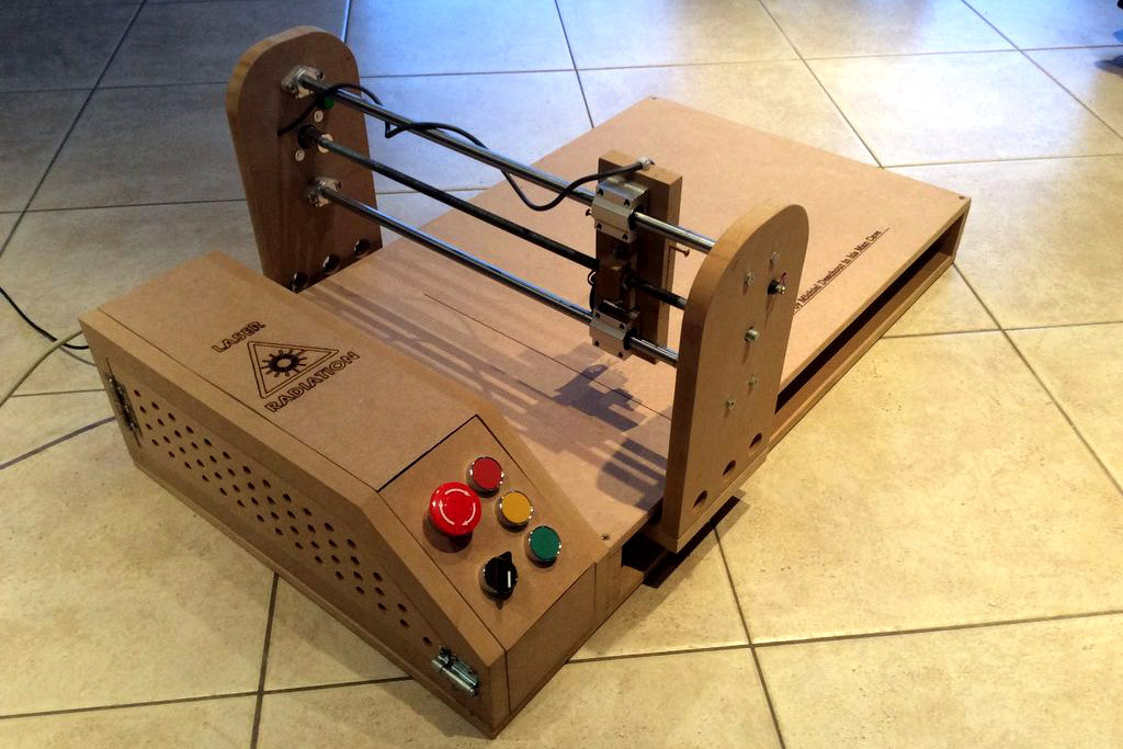 Laser Engraver Diy  How to Build an Arduino Powered Laser Engraver for $230