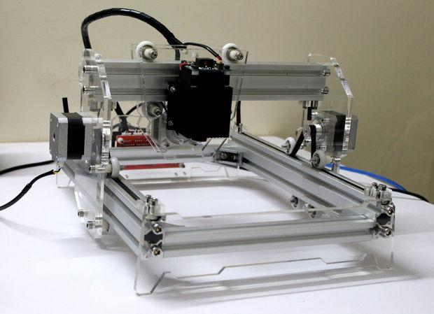 Laser Engraver Diy  DIY 5500mW Laser Engraver Cutter 11 Steps with