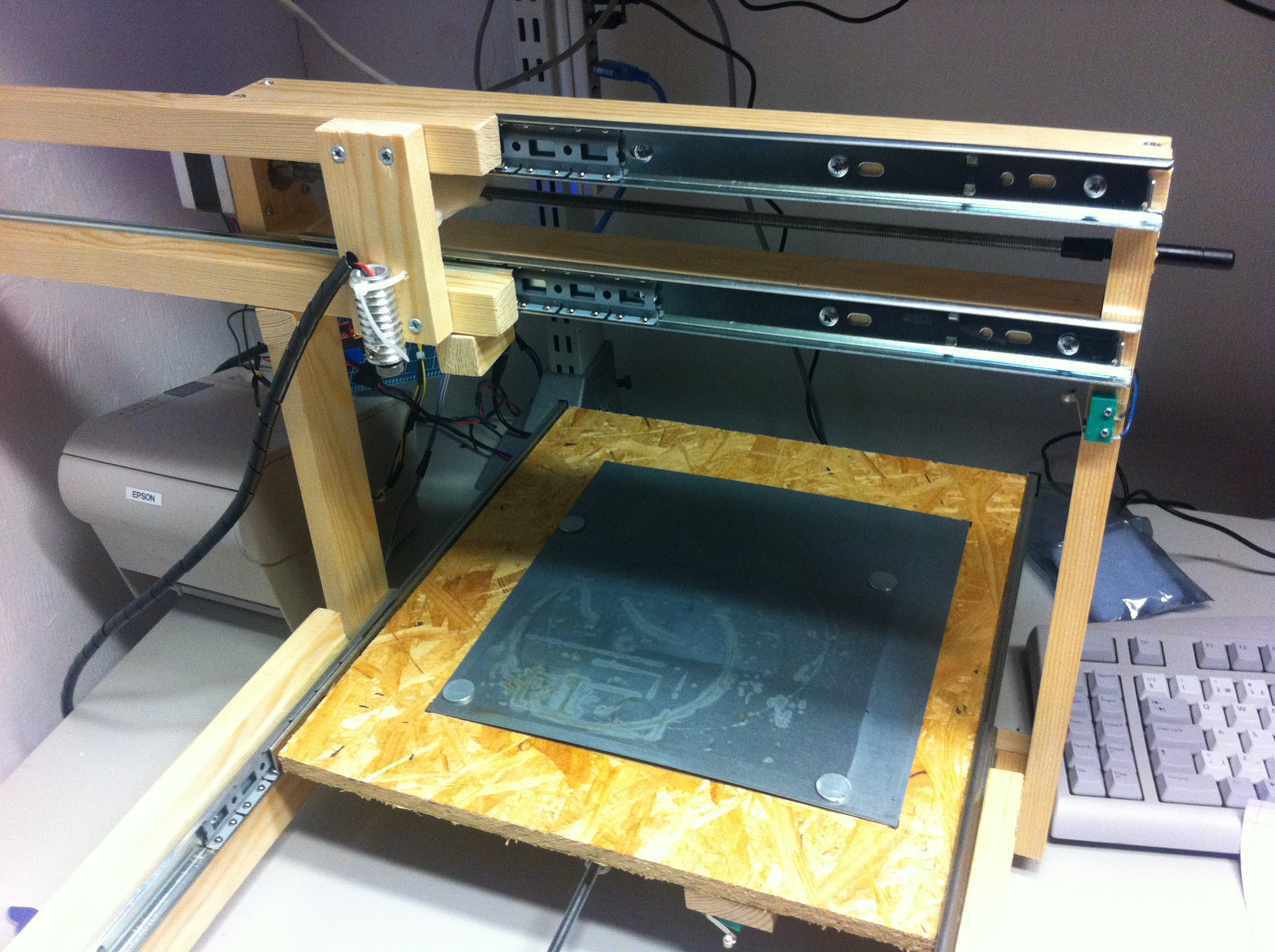 Laser Engraver Diy  What can you cut with a 300mW DIY laser cutter