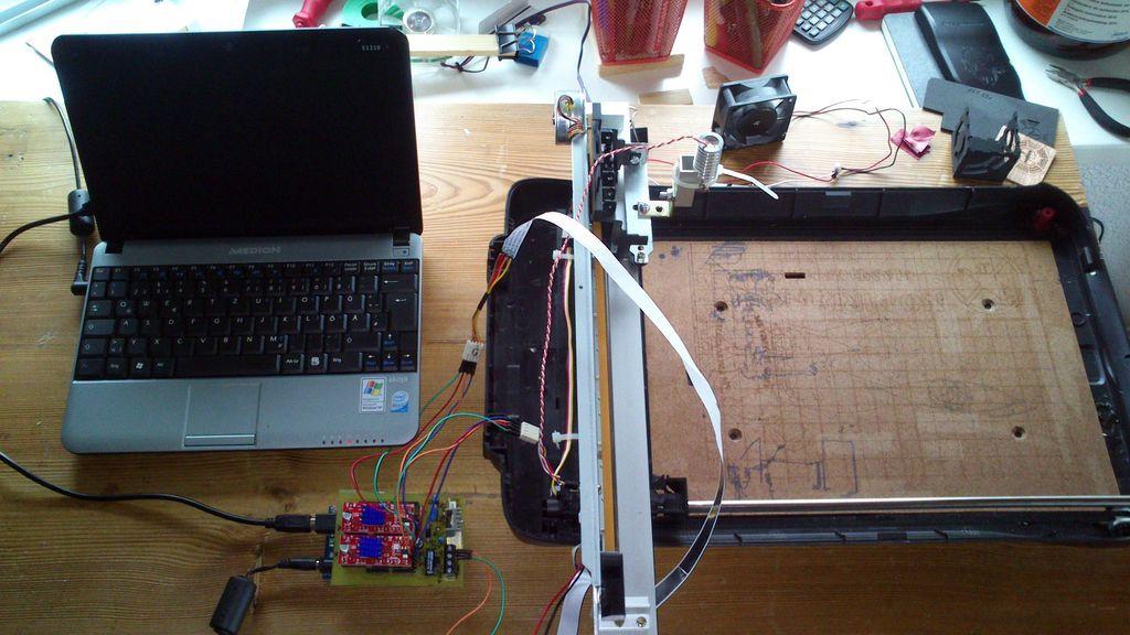 Laser Engraver Diy  Hacked Gad s DIY Tech Blog 2 new articles