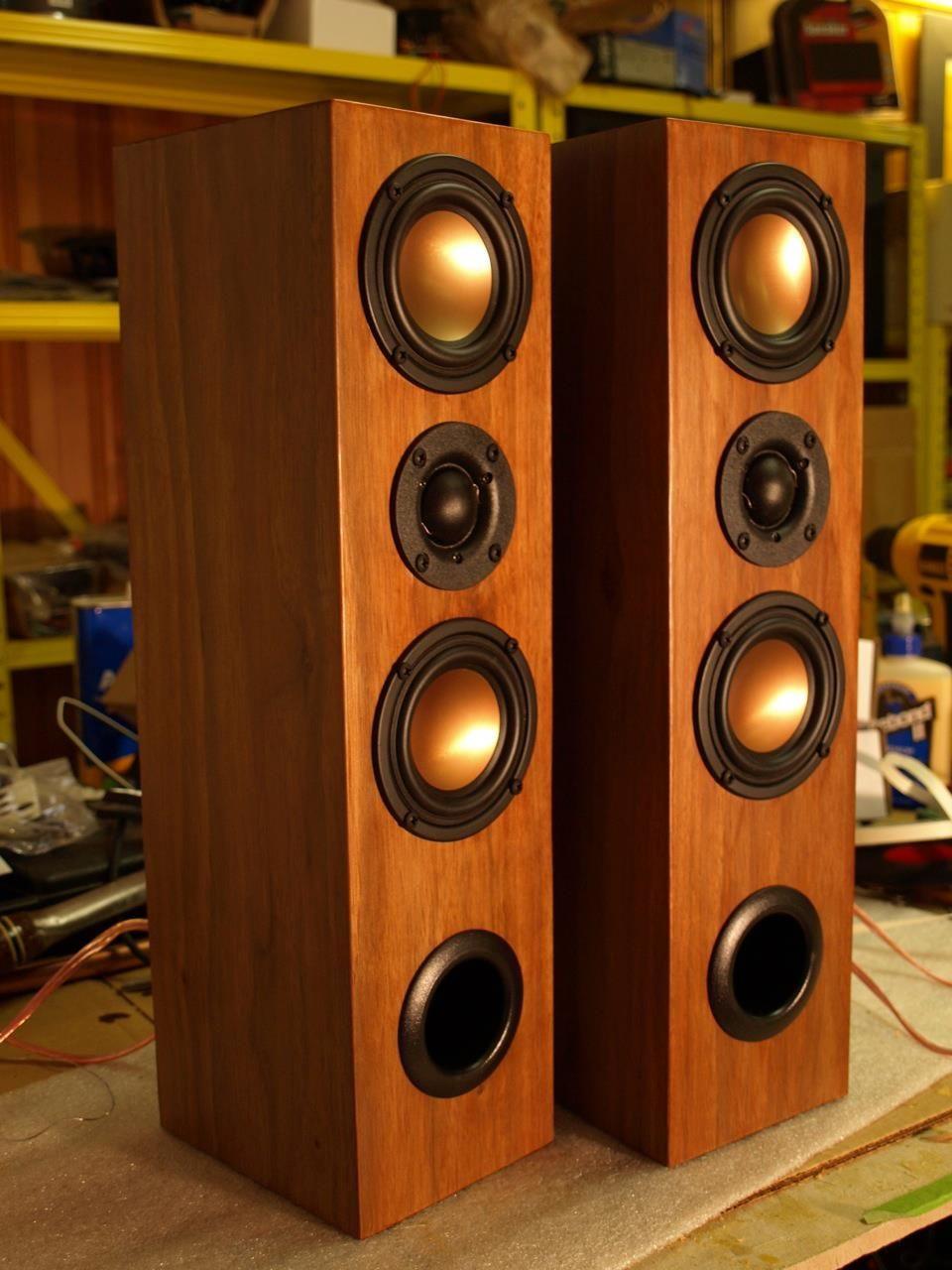 Lautsprecher Diy  Fantastic home build speakers Hapso