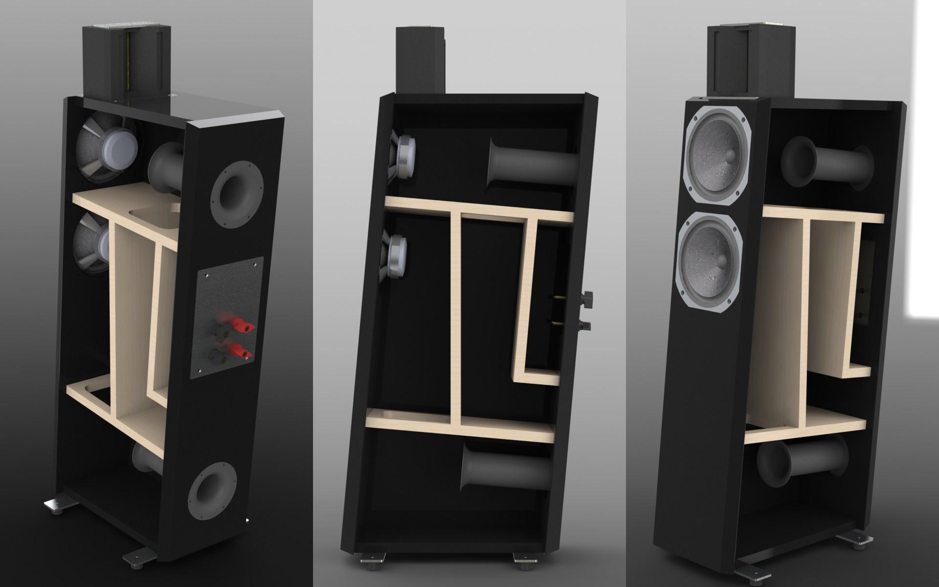 Lautsprecher Diy  Klang Ton Forum • Thema anzeigen [B] DIY Lautsprecher