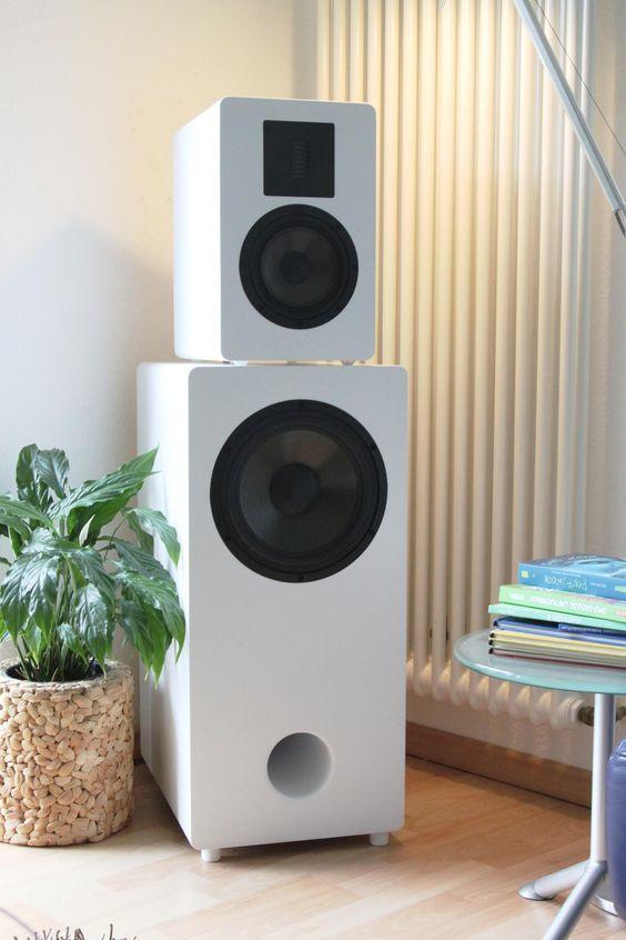 Lautsprecher Diy  Lautsprecher Selbstbau Eton Duetta ER4 und Etonkombi