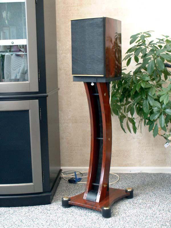 Lautsprecherständer Diy  wooden speaker stands Google Search