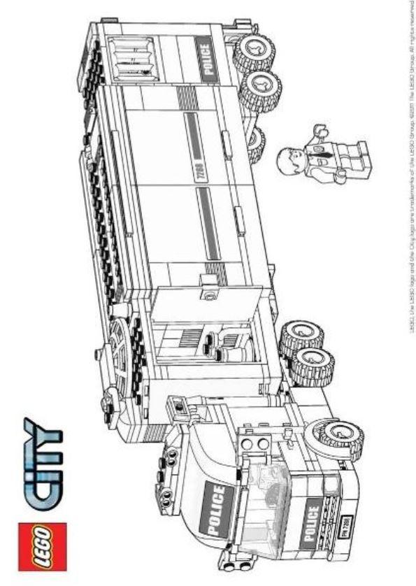Lego City Ausmalbilder  Ausmalbilder zum Ausdrucken Malvorlagen Lego City Bilder